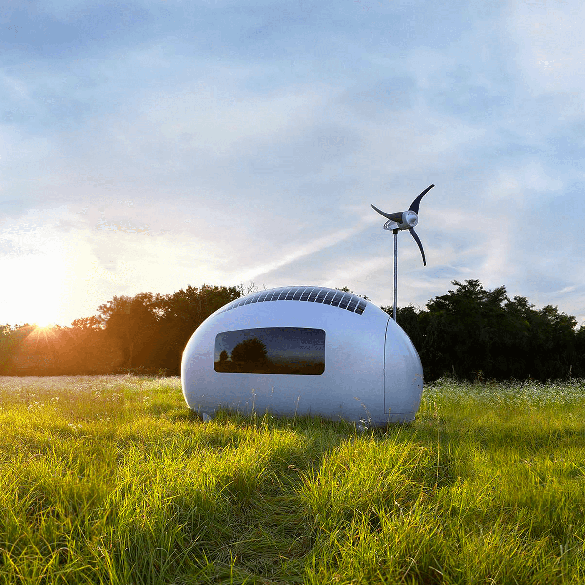 Modern Bedroom Design Ecocapsule Ecocapsule