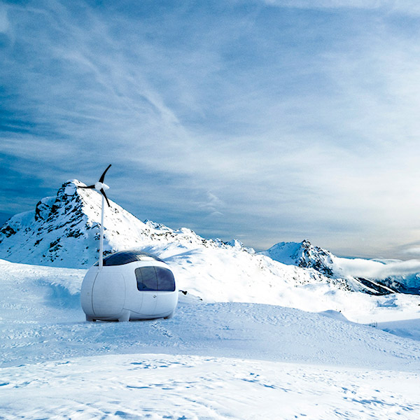Ecocapsule Your New Self Sustainable Microhome